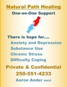 Naturopathic Treatment for Anxiety, Depression, and Stress